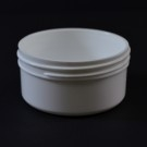 2 oz 70/400 Regular Wall Straight Base White PP Jar