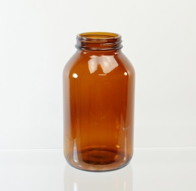 500CC 53/400 Amber Glass Nutritional Supplement Packer
