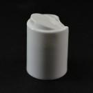 24/415 Smooth White Presstop Dispensing Cap PP
