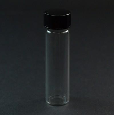2 DRAM Narrow Screw Thread Clear Glass Vial 15/425