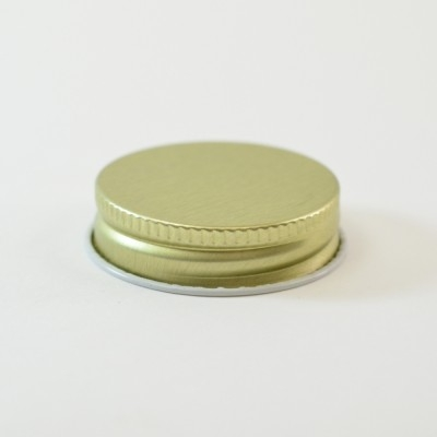 38/400 CT Gold White Metal Continuous Thread Caps