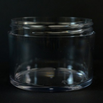 250 ML 83/400 Heavy Wall Low Profile Clear PETG Jar