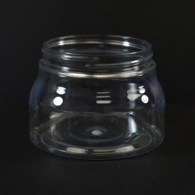 8 oz 70/400 Tuscany Clear PET Jar