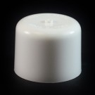 24/410 White Push Pull Soft Radius Dispensing Symmetrical Cap to 8 oz #221