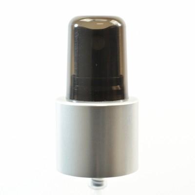22/415 Black/Matte Silver/Black Clarified PP Hood Fine Mist Sprayer