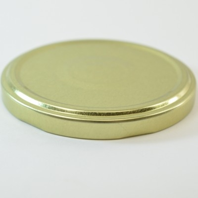 82/2040 Regular Twist Open / Step and Button Gold Metal Cap / Plastisol Liner