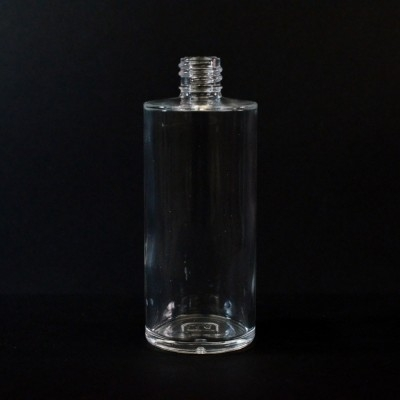 3.5 oz 18/415 Cylinder Clear Glass Bottle
