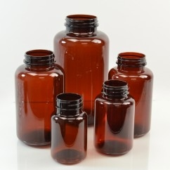 Amber PET Pharmaceutical Packers