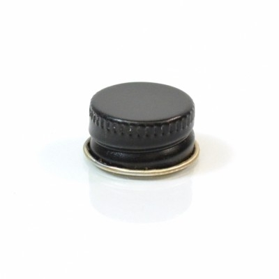 20/400 CT Black Gold Metal Continuous Thread Caps
