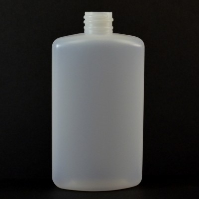 4 oz 20/410 Drug Oval Natural HDPE Bottle