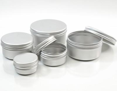 Aluminum Metal Jars