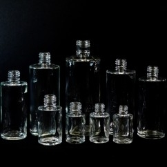 Cylinder Round Glass Bottles