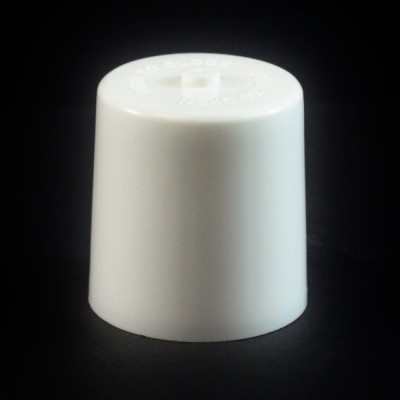 24/410 White Push Pull Flat Dispensing Symmetrical Cap to 2 oz #210