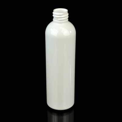 4 oz 20/410 Cosmo Round White PET Bottle