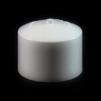24/410 White Push Pull Convex Dispensing Symmetrical Cap to 8 oz #202