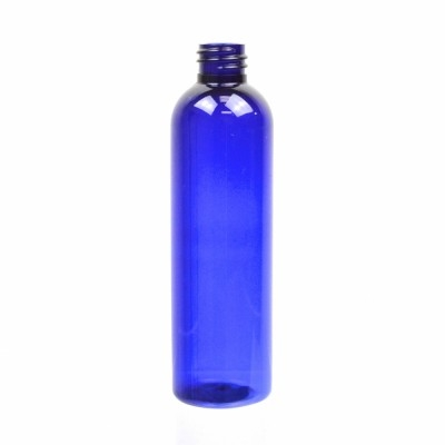 4 oz 20/410 Cosmo Round Cobalt PET Bottle