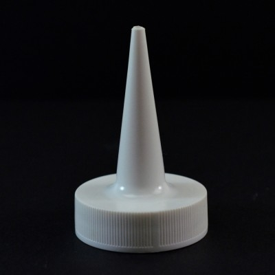 38/400 White Dispensing Applicator Cap PS-237 Valve Seal PP