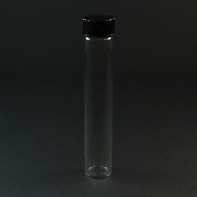 6 DRAM Screw Thread Clear Glas Vial 18/400