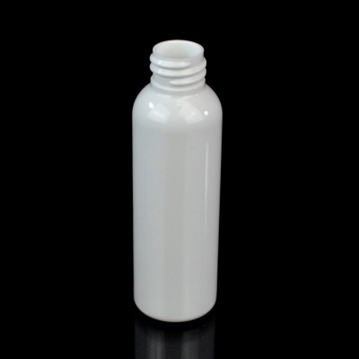 2 oz 20/410 Cosmo Round White PET Bottle