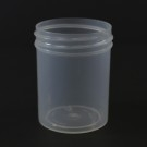 2 oz 48/400 Regular Wall Straight Base Natural PP Jar