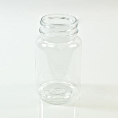 100CC Clear Nutritional Supplement Packer PET 38/400