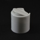24/410 Smooth White Presstop Dispensing Cap - 3000/Case