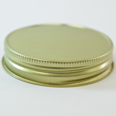 70G-450 Gold Metal Cap with Plastisol Liner