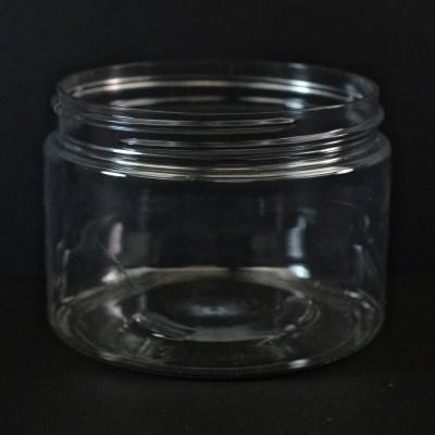 12 oz 89/400 Wide Mouth Clear PET Jar
