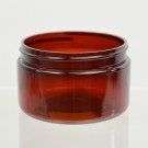 4 oz 70/400 Low Profile Amber PET Jar