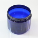 6 oz 70/400 Wide Mouth Cobalt Blue PET Jar