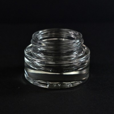 15 ML 40/400 Special Minerva Clear Glass Jar
