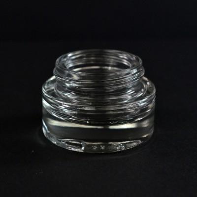 15 ML 40/400 Special Minerva Clear Glass Jar