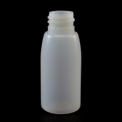 1 oz 20/410 Evolution Round Natural HDPE Bottle