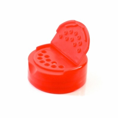 38/485 Smooth Red Flap Mate Dispensing PP Cap