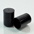 19.3mm GPI Special Fran PP Black Roll On Cap