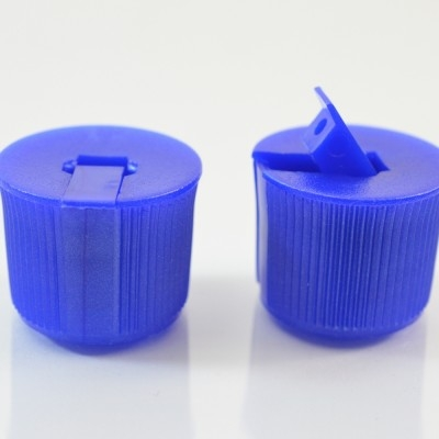 20/410 Blue Dispensing Spouted Cap PS-135 Land Seal PP