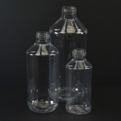 Modern Round Plastic Bottles