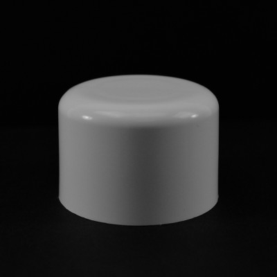 24/410 White Soft Shoulder Symmetrical Cap to 8 oz