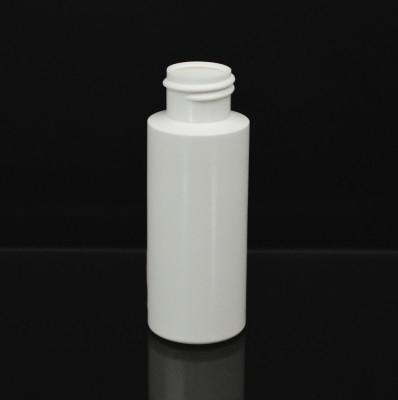 2 OZ 20/410 Cylinder Round White HDPE Bottle - 1000/case