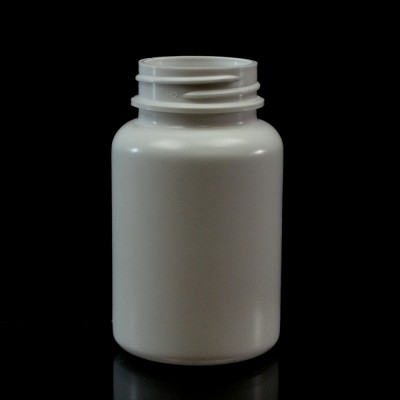 120CC White Nutritional Supplement Packer HDPE 38/400