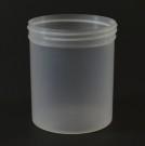 16 oz 89/400 Regular Wall Straight Base Natural PP Jar