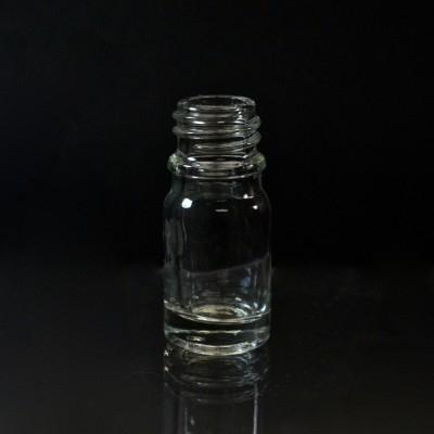 5 ml Euro Dropper 18-DIN Clear Glass Bottle