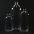 8 oz 24/410 Capri Oval Clear PET Bottle