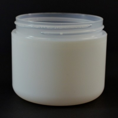 4 oz 70/400 Double Wall Round Base IMF PS Jar