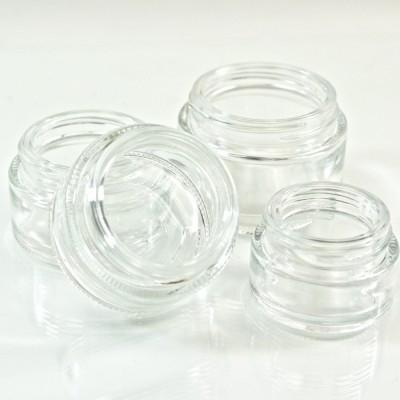 Straight Base Glass Jars