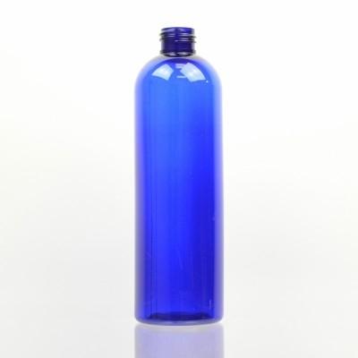 12 oz 24/410 Cosmo Round Cobalt PET Bottle