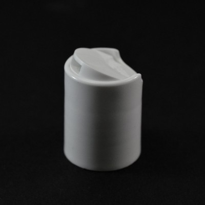 20/415 Smooth White Presstop Dispensing Cap PP