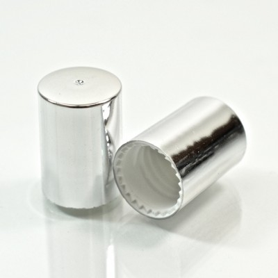 16.0mm GPI Special Olimpia Shiny Silver Roll On Cap