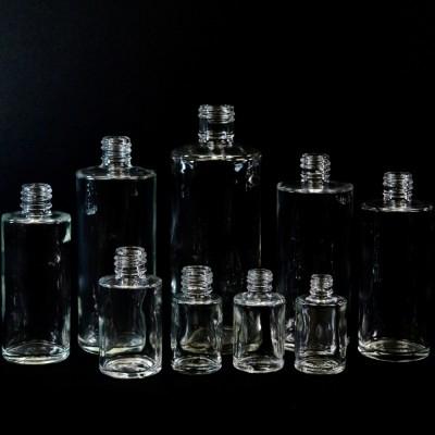 Cylinder Round Glass Bottles