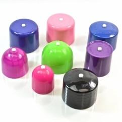 Push Pull Symmetrical Plastic Caps